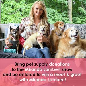 Miranda Lambert to Fill the Little Red Wagon in Donation Drive