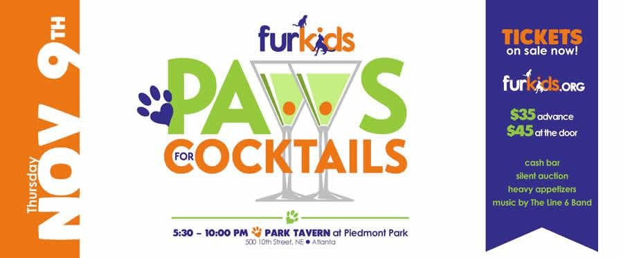 Paws for Cocktails 2017